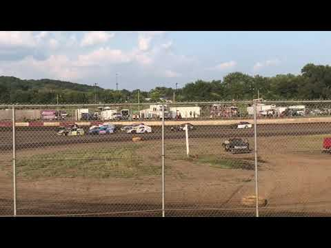 Roger Rebholz Modified Heat Race | Peoria Speedway 08.11.18