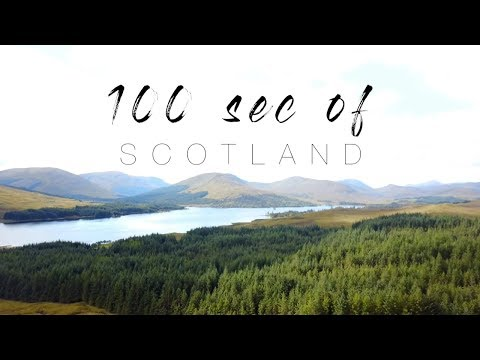 100 seconds of Scotland | Travel Video | Scotland 2017