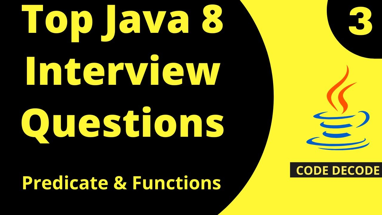 Java 8 || Java 8 New Features Interview Questions ( Live Demo ) Part 3
