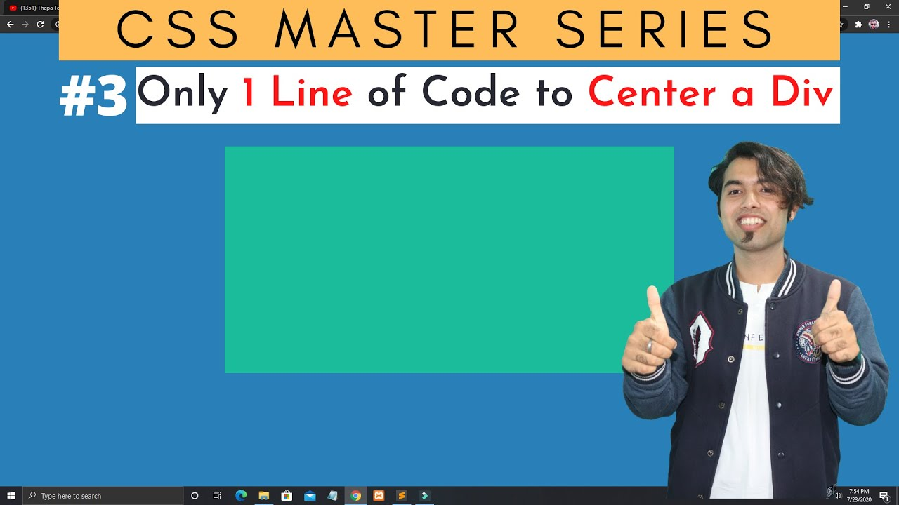 3 Ways to Center a Div Inside Another Div in CSS in Hindi | CSS Master