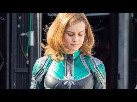 Heres Your First Look At Brie Larson As Captain Marvel
