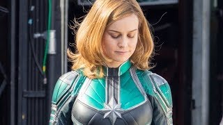 Here's Your First Look At Brie Larson As Captain Marvel
