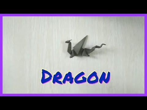 How to make origami paper dragon kaise banate hai very easy instructions