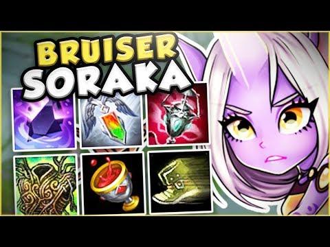 Download Youtube: IS THIS BRUISER SORAKA TOP BUILD THE NEW OP?! NEW BRUISER SORAKA TOP GAMEPLAY! - League of Legends