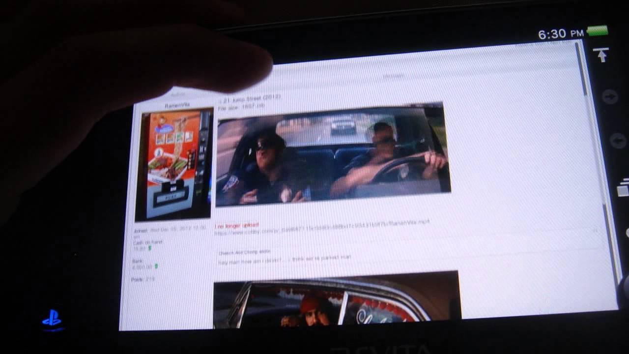 PSVita-How to download free full movies!