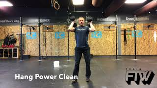 Dumbbell Power Clean Progression