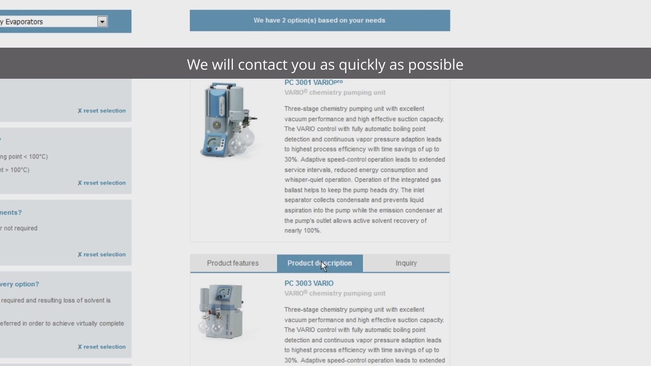 finding the right vacuum pump for your application vacuum pump selection guide en