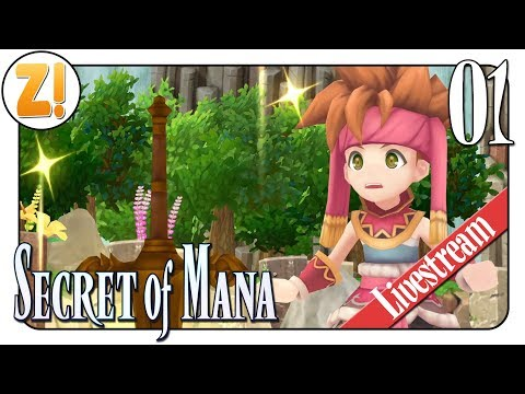 Secret of Mana: Die Legende erwacht zu neuem Leben! 🔴 | #01 | Let's Play [DEUTSCH]