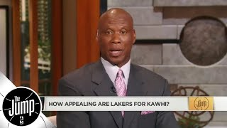 Byron Scott: Gregg Popovich doesn't want to make Lakers better with Kawhi Leonard | The Jump | ESPN