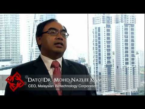 Executive Focus: Dato' Dr Mohd Nazlee Kamal, CEO, Malaysian Biotechnology Corporation