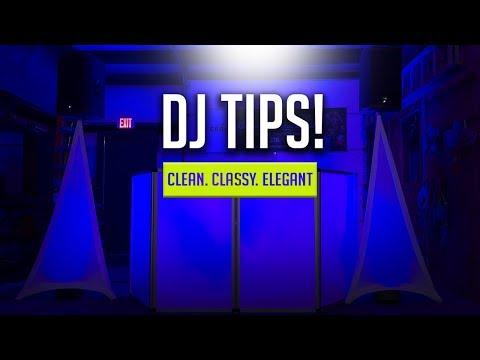 MOBILE DJ BOOTH SETUP | EASY AND CLEAN SETUP FOR 2018