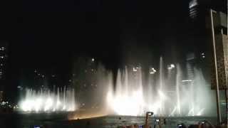 Dubai Fountain Arabic & Classic Mix Amazing Show