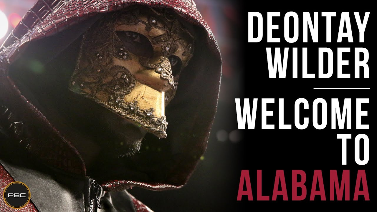 Deontay Wilder on Defending His Heavyweight Title in His Home State of Alabama