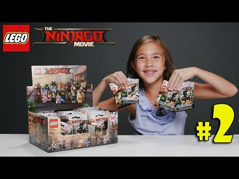 LEGO NINJAGO MOVIE MINIFIGURES!!! Let's Open Some Blind Bags! PART 2
