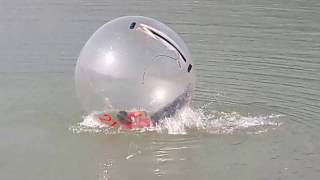 Water ball experience in Pokhara