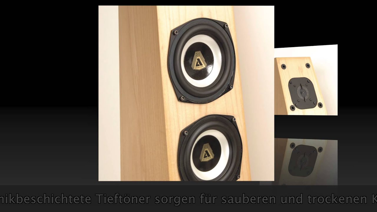 Avalon Symbol Hifi Lautsprecher, präsentiert von springair.de - YouTube