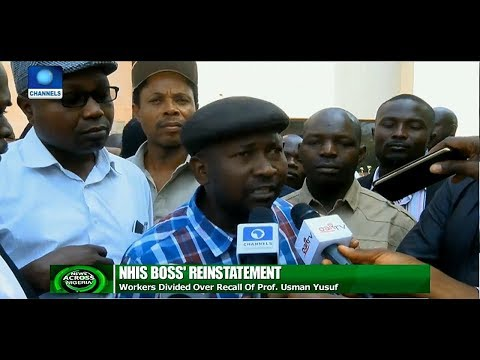 New Twist As Groups Protest Over NHIS Boss Reinstatement  News Across Nigeria 