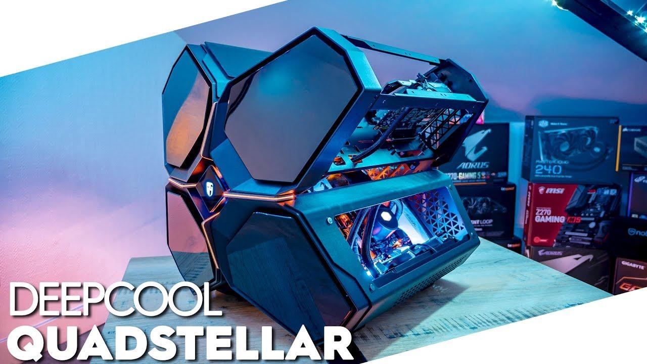 [REVIEW] DeepCool Gamer Storm QuadStellar - TopAchat [FR]