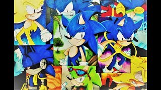 Drawing the Evolution of Sonic - THIRD ATTEMPT!