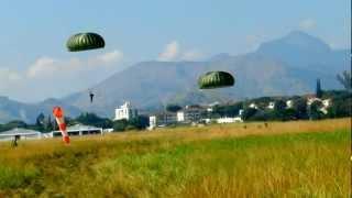 Brigada de Paraquedistas (Salto de Pé-Preto - 2012)