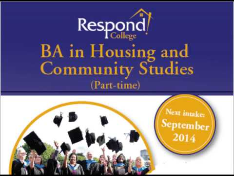 Respond! College BA in Housing and Community Studies - Intake September 2014
