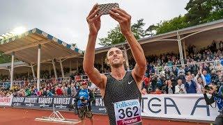 Men's 800m at Gothenburg GP 2018
