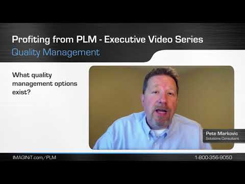 Profiting from PLM with Quality Management