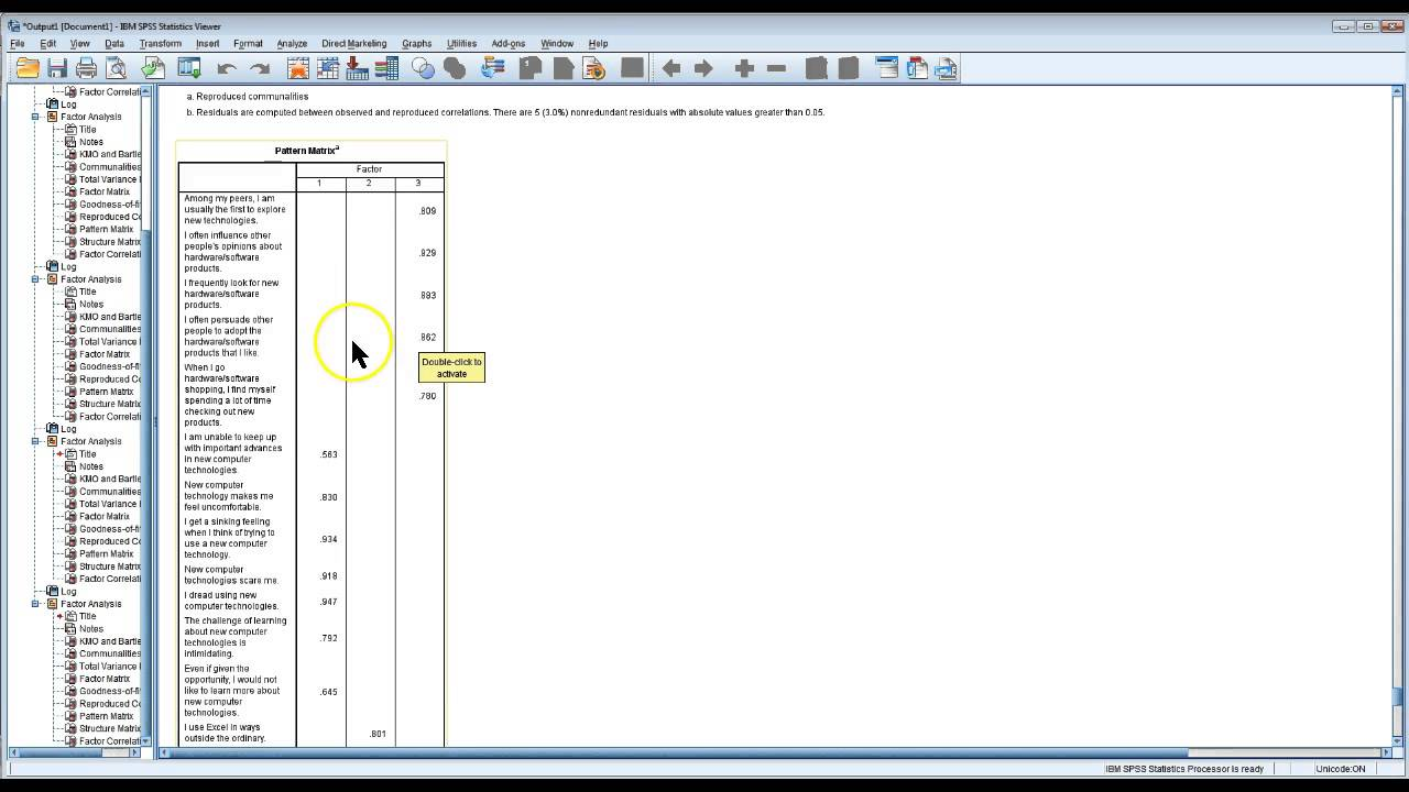 spss rename variable label