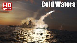 Cold Waters кампания North Atlantic 1984 Ep.3 Охота в атлантике (Без комментариев) 1440p60 HD