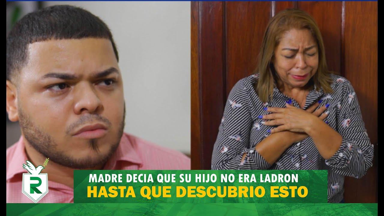 Madre decía que su hijo no era ladrón, hasta que descubrió esto