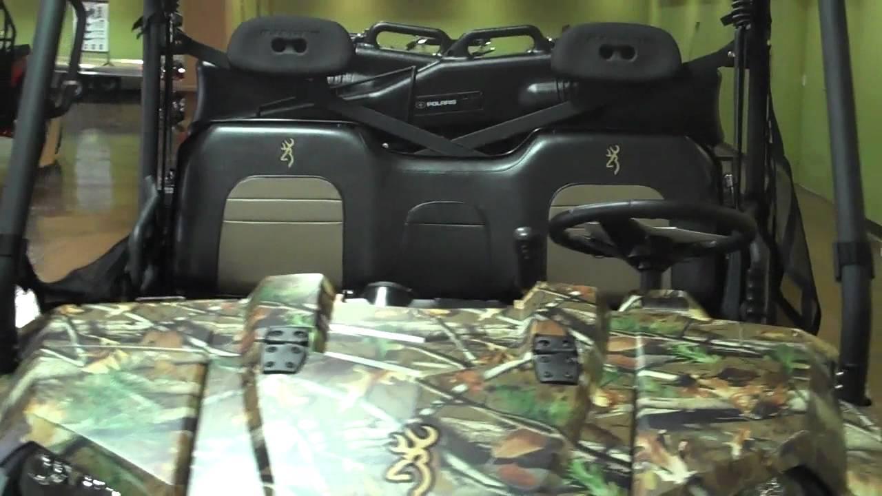 2012 Polaris Ranger 800 Xp >> 2012 Polaris Ranger 800 XP Browning Edition at Pro Caliber Vancouver Washington - YouTube