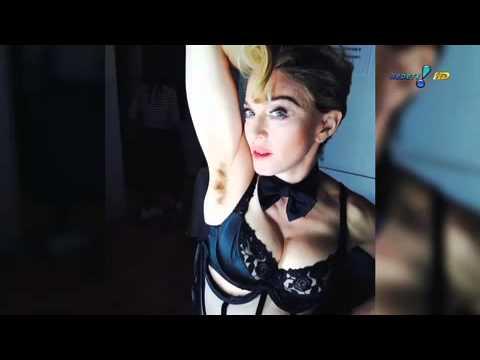 Madonna Choca Com Axilas Cabeludas Em Foto - TV Fama 21/03/2014