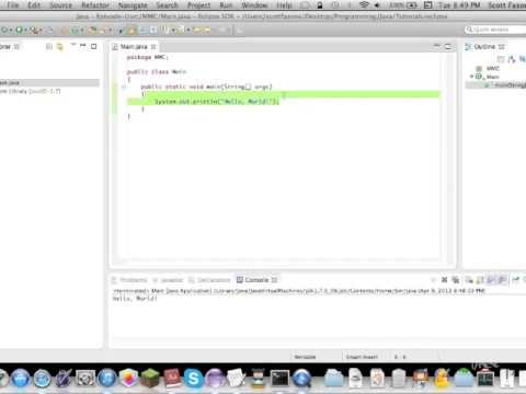 Java Tutorials: Beginning