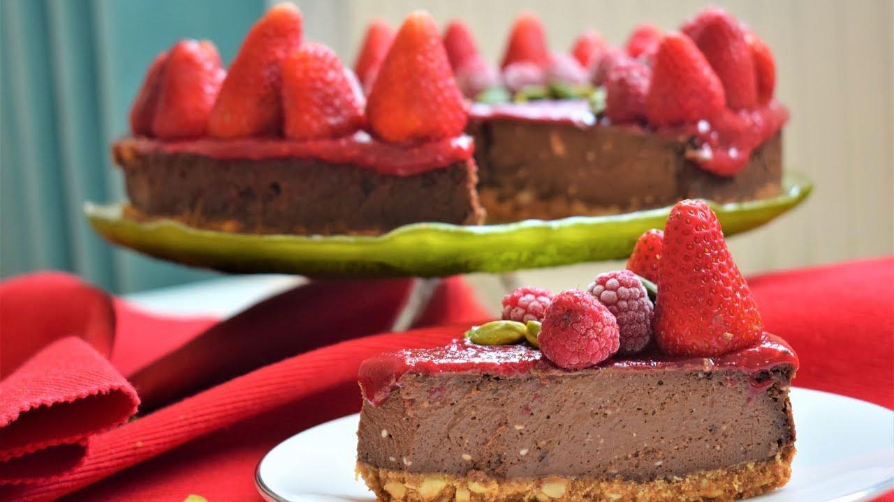 Çikolatalı Cheesecake Yapımı Videosu