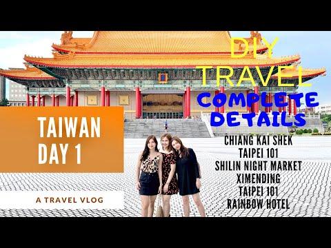 taipei,-taiwan-vlog-day-1.-chiang-kai-shek,-taipei-101,-ximending,-shilin-night-market.-diy-travel