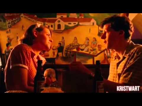 New Café Society scene with Kristen Stewart and Jesse Eisenberg 2016