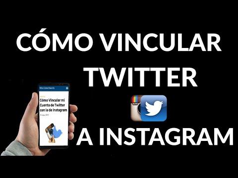 Cómo Vincular mi Cuenta de Twitter con Instagram