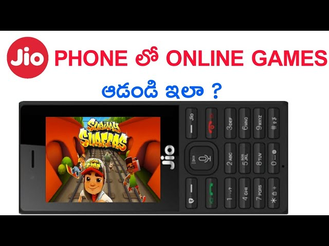 Jio Phone ల Online Games ఆడడ ఎల How To Play Online Games In Jio Phone Golectures Online Lectures