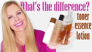 Toners, Essences & Lotions | What Are They? | How To Use Them