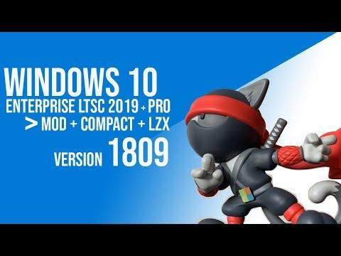 AIO Windows 10 Enterprise LTSC + PRO – Mod Edition + Compact