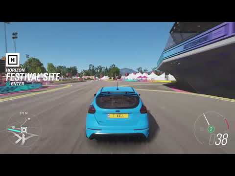 Forza horizon 4 ford focus st quick spin