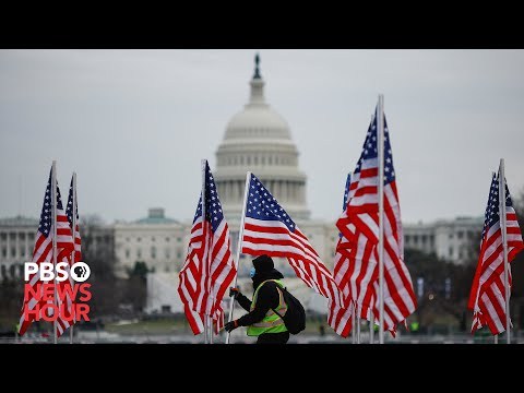 WATCH LIVE: Field of Flags, a public art display celebrating Biden's inauguration