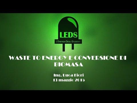 Waste to Energy e conversione di biomassa [Ing. Luca Fiori]