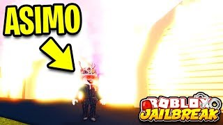 Asimo3089 BURNED the MILITARY BASE to the GROUND! Military Base Update | Roblox Jailbreak New Update