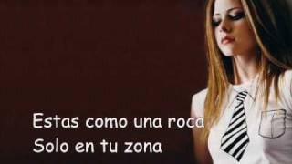 Avril Lavigne - too much to ask - español