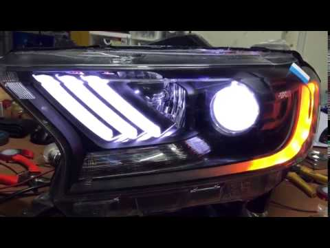 Drl Ford Ranger Mustang By F Sport Youtube