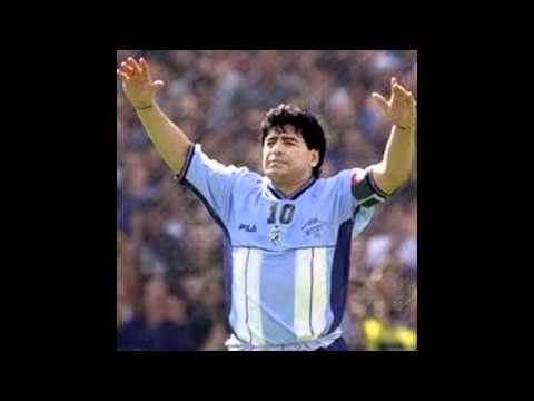 Maradona song ( pictures and movies )