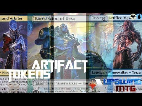 Artifact Tokens - Planswalker-Army - (MTG Arena)