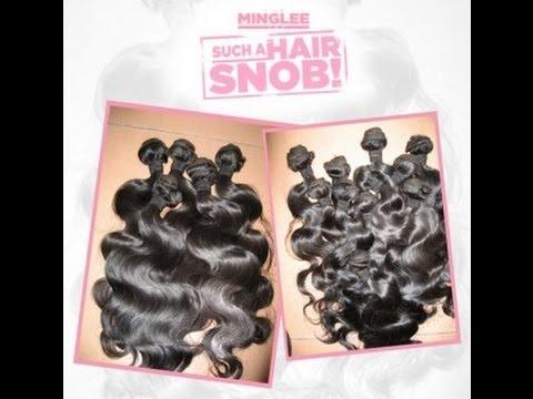 Iamminglee Virgin S Hair Unboxing Review Ayeeee