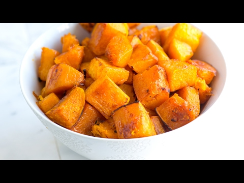 Cinnamon Roasted Butternut Squash Recipe - How To Roast Butternut Squash